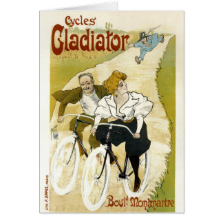 Cycles Gladiator - Vintage Bicycles Card