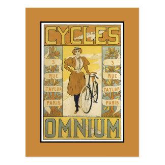 Cycles Omnium Postcard