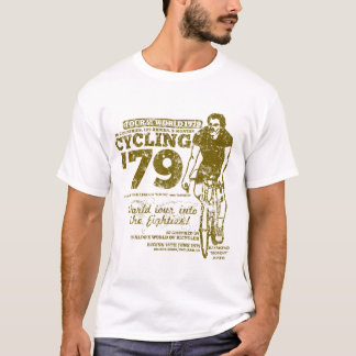 Cycling '79 Tour of the World (Retro Distressed) T-Shirt