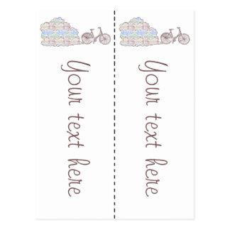 Cycling Aarhus, 2x bookmarks Postcard