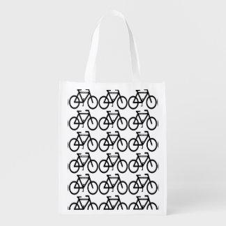 Cycling Abstract Market Totes