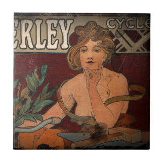 Cycling Advertisement Ceramic Tiles