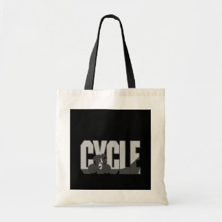Cycling - budget tote bag
