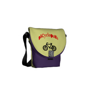 Cycling Bike Nut Messenger Bag