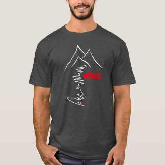 Cycling Climb, Attack T-Shirt
