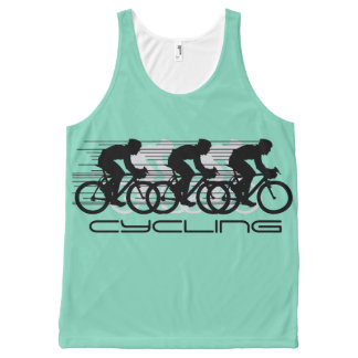 Cycling Design Unisex Tank Top