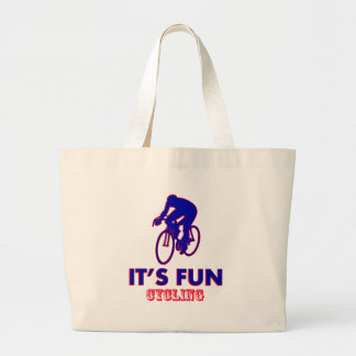 cycling Designs Canvas Bag