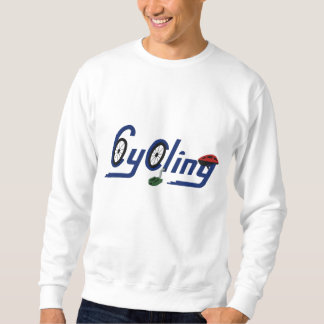 Cycling Embroidered Sweatshirt