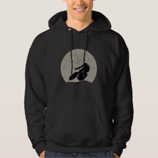 Cycling Full Moon Hoodie