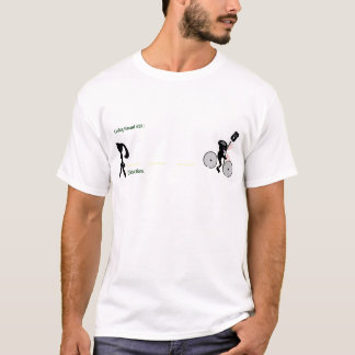 Cycling Hazard: Distractions T-Shirt