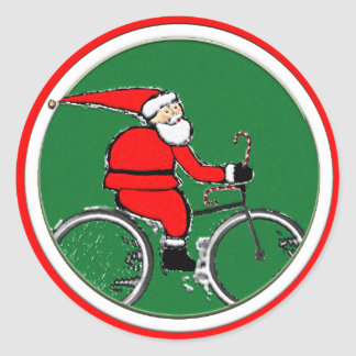 Cycling Holidays Classic Round Sticker