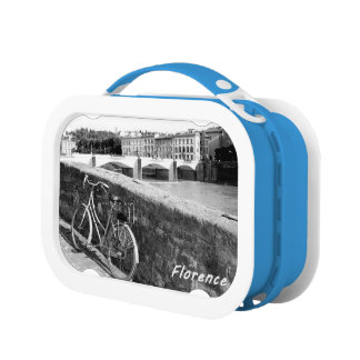Cycling in the Italian city of Florence Lunch Boxes