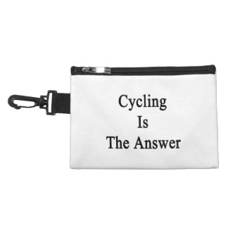 Cycling Is The Answer Accessory Bag