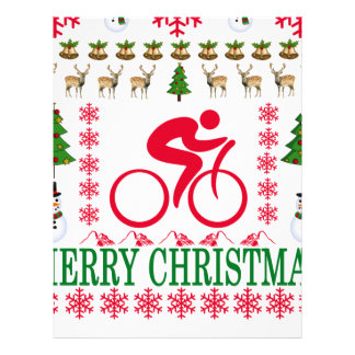 CYCLING MERRY CHRISTMAS . LETTERHEAD