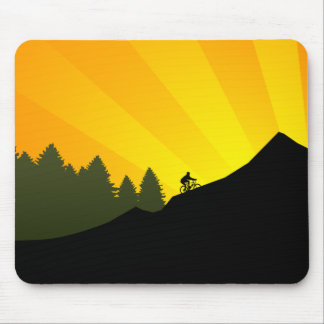 cycling : mountain rayz : mouse pad