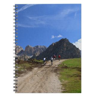 cycling on Dolomites Notebooks