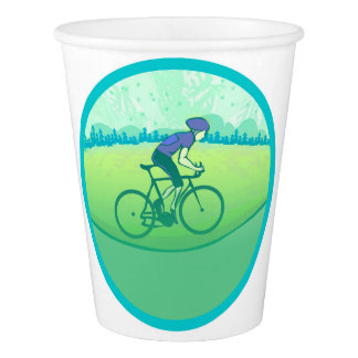 Cycling Paper Cup