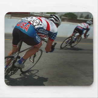 Cycling Race Mouse Pad