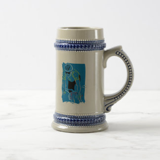 Cycling Racer Beer Stein