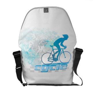 Cycling Rickshaw Messenger Bag
