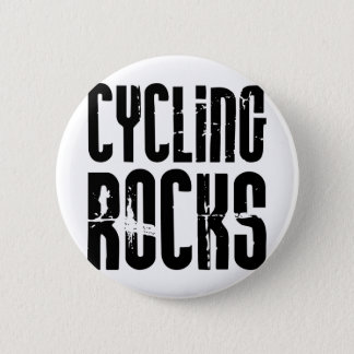 Cycling Rocks 2 Inch Round Button
