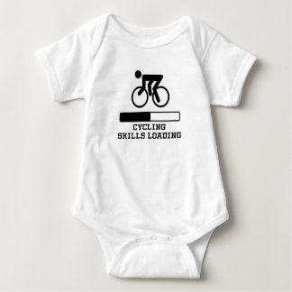 Cycling Skills Loading Baby Bodysuit
