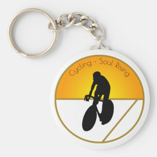 Cycling Soul Rising Keychain