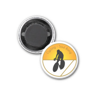 Cycling Soul Rising Magnet