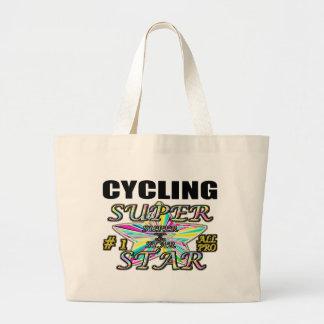 Cycling Superstar Canvas Bag