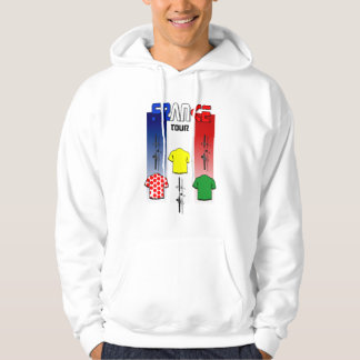 Cycling Touring France Cyclists gear Hoodie