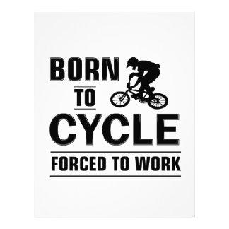 Cycling Tshirt Letterhead