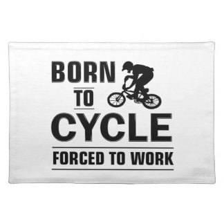 Cycling Tshirt Placemat