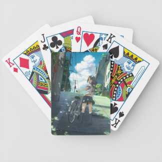 Cycling Under The Sun Bicycle Playing Cards