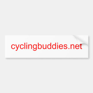 CyclingBuddies Bumper Sticker