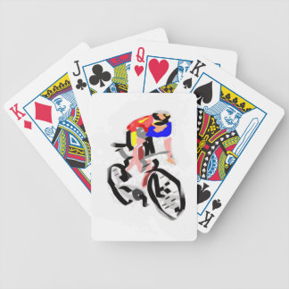 Cyclist 30122017 01 bicycle playing cards