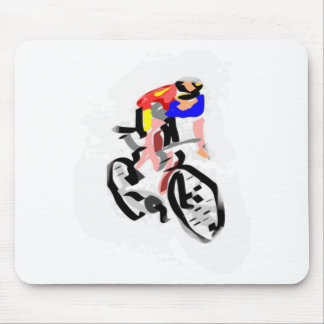 Cyclist 30122017 01 mouse pad
