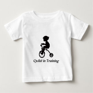 Cyclist in Training Baby T-Shirt
