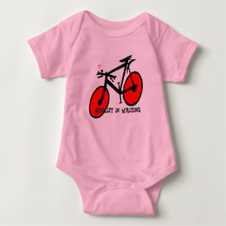 Cyclist in Waiting Infant Creeper