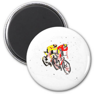 cyclist magnet