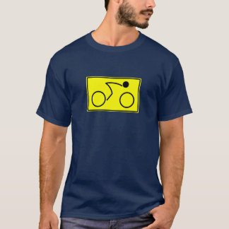 Cyclist (yellow) T-Shirt