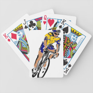 Cyclists Bicycle Playing Cards