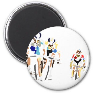 Cyclists Magnet