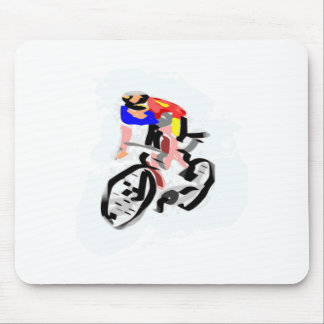 Cyclists Mouse Pad