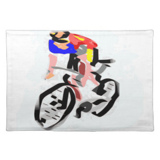 Cyclists Placemat