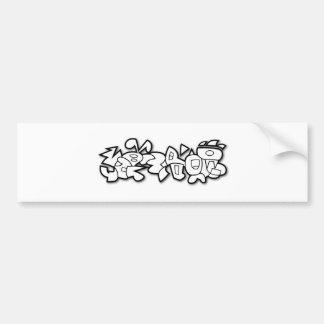 Cyclobunny Bumper Sticker