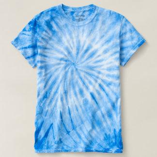 CYCLONE Blue Tie-Dye DIY add a PHOTO IMAGE TEXT T-shirt