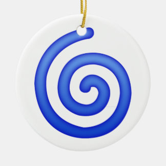 Cyclone - Emoji Ceramic Ornament
