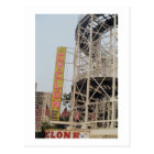 Cyclone Sign (Coney Is., NY) postcard