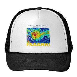 Cyclone Yasi Queensland February 2011 Mesh Hats
