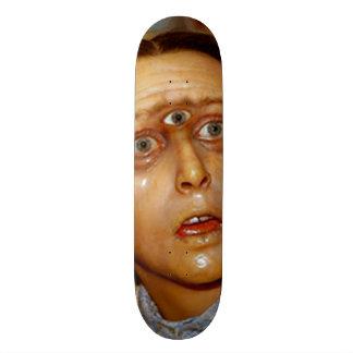 Cyclops Gomer Girl Custom Pro Park Board Skateboard Deck
